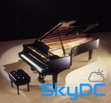 키보드로 사용이 가능한 피아노