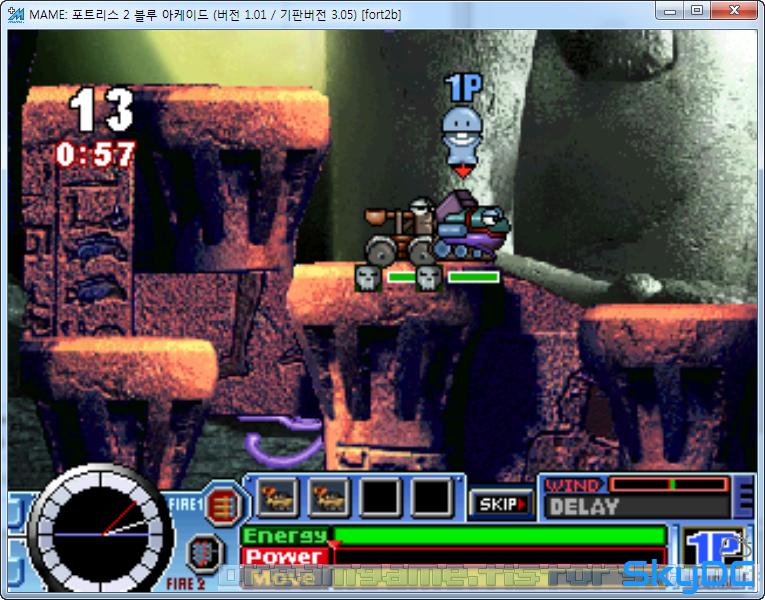 MAME - 포트리스 2 블루 아케이드 (Fortress 2 Blue Arcade) [다운 ,다운로드, Down]