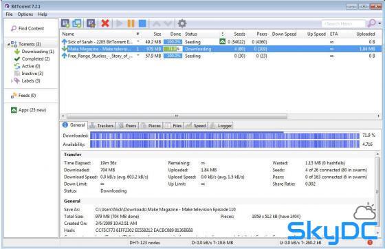토렌트 다운로드 프로그램 비트토렌트 BitTorrent 다운로드