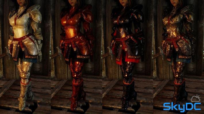 Plate Armor Plus from Oblivion to Skyrim by Rhodanum