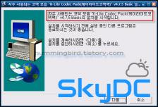 자주 사용되는 코덱 모음