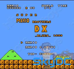 [NES] Super Mario Bros DX