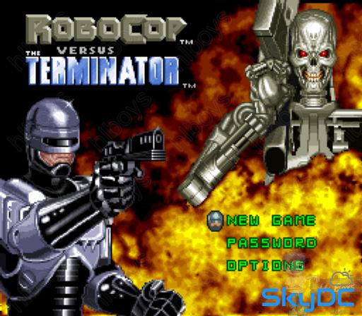 [SNES] 로보캅 대 터미네이터 - Robocop Versus The Terminator