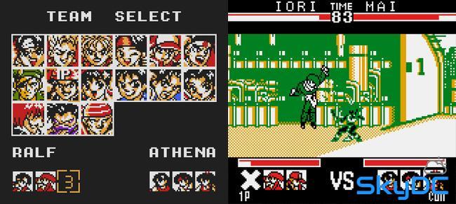 열투 킹 오브 파이터 시리즈 (Nettou The King Of Fighters)